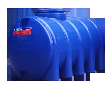 Bồn nước nhựa tân mỹ 400l ngang